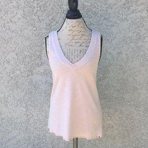 Vimmia Pastel Pink Knit 🧶 Muscle Tee Shirt Tank